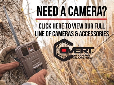 Covert Scouting Cameras | Remote Cameras for Hunting